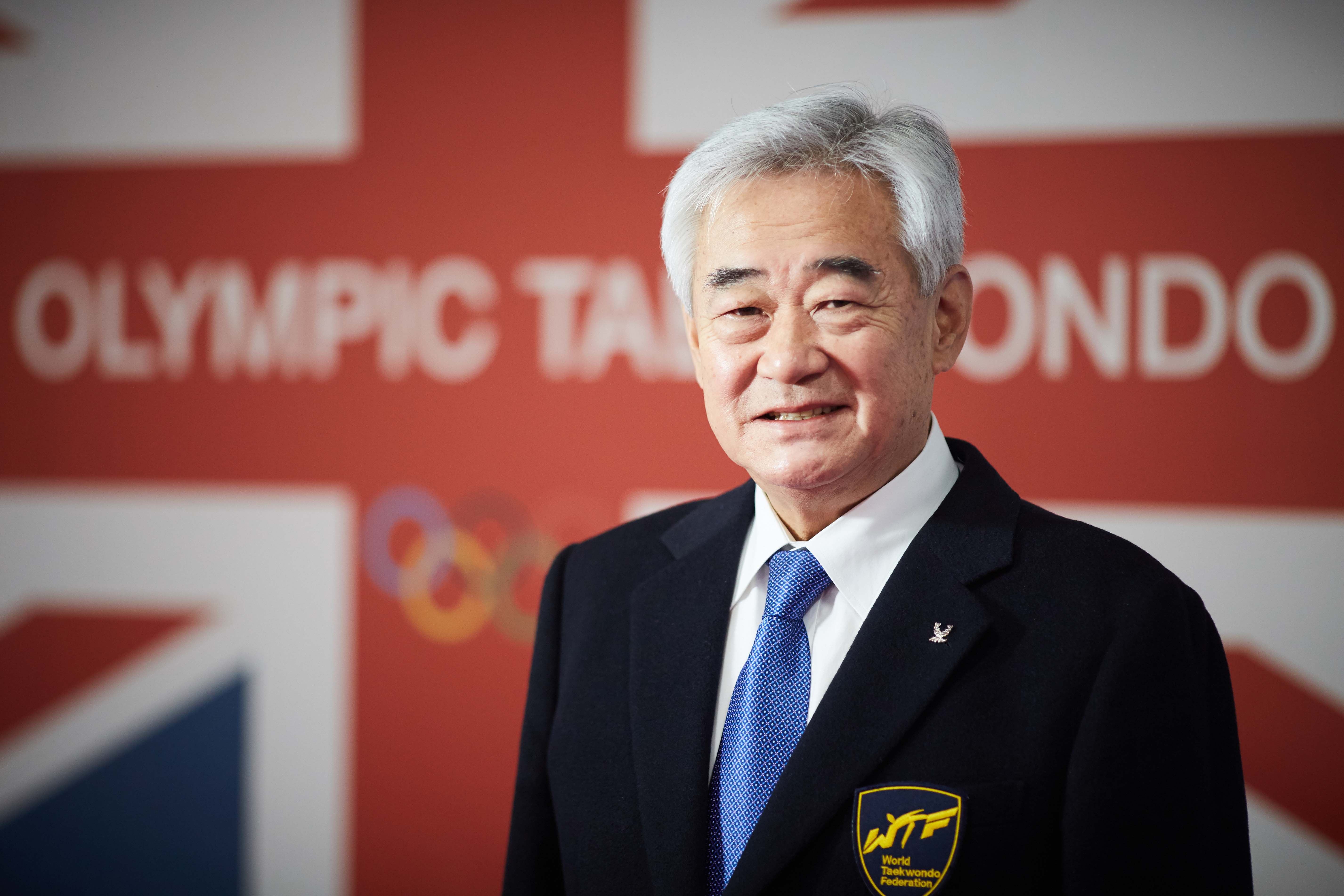 National Taekwondo Centre in Manchester official opening of the new Centre after a £3m transformation. Pictured Chungwon Choue, President of the World Taekwondo Federation
