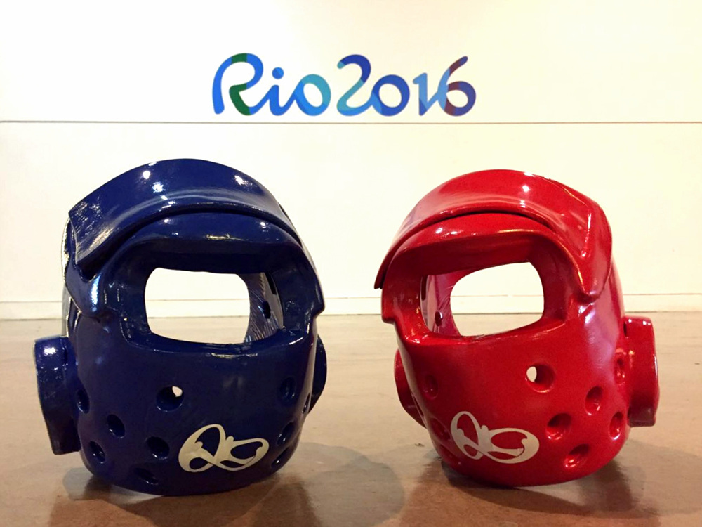Fully Branded Taekwondo Protective Gear Will Be Used in Rio