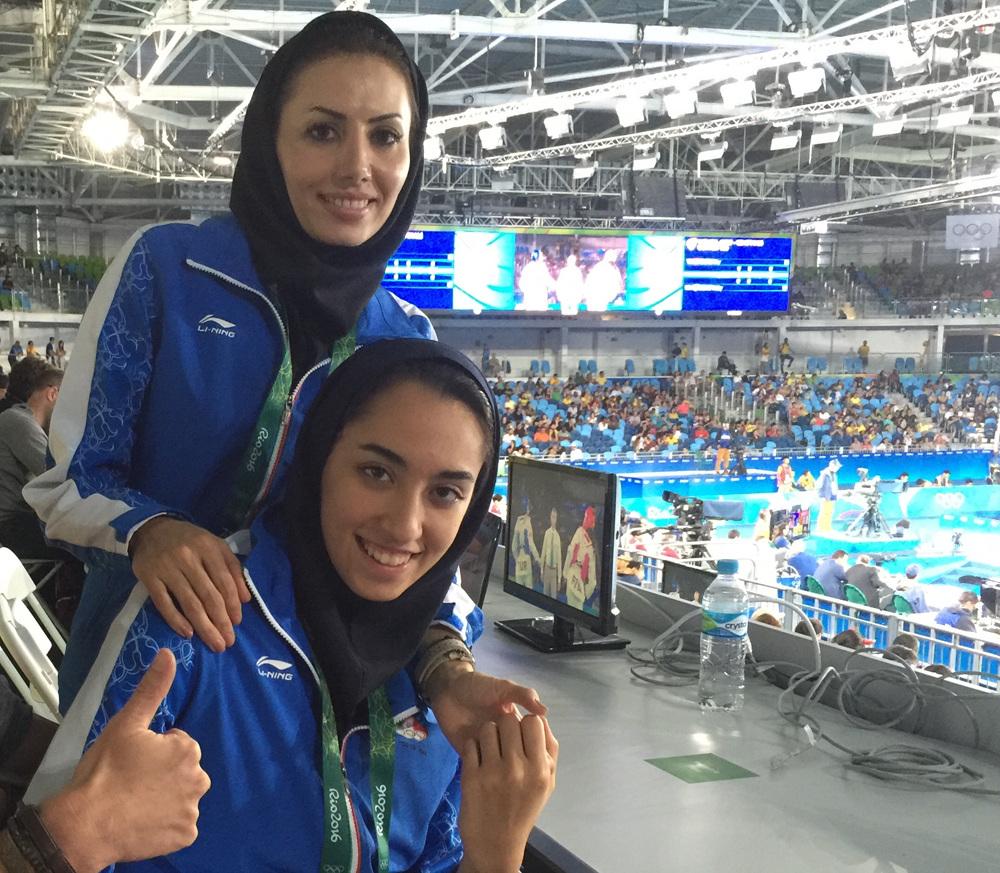 Kamia and coach