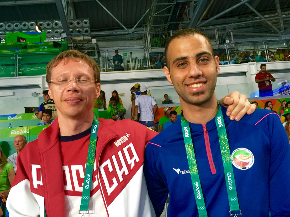 Mahdi Pourrahnama & Vitali Nazarenko