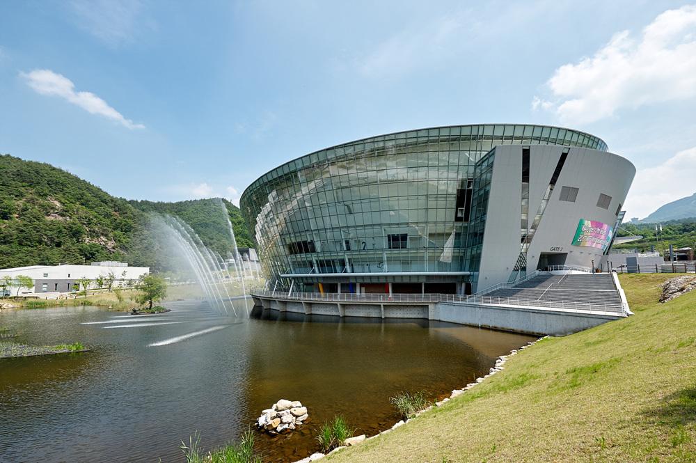 T1 Arena in Taekowndowon, Muju, Korea where the World Taekwondo Championships are to be held on June 24-30
