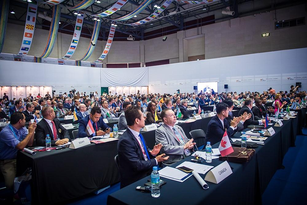 WTF General Assembly is held on June 23, 2017, in Muju, Korea (5)