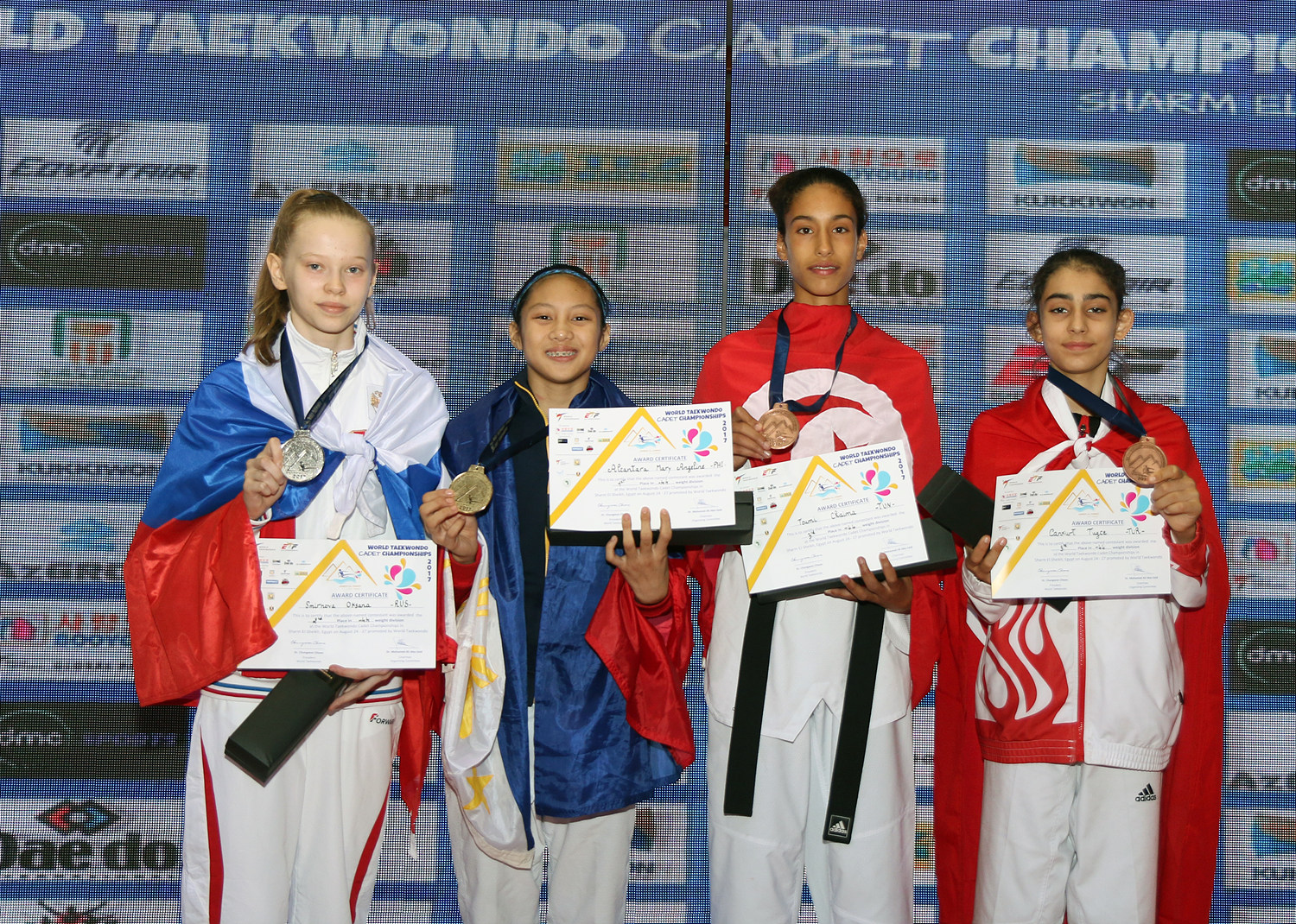 Award ceremony for F-44kg