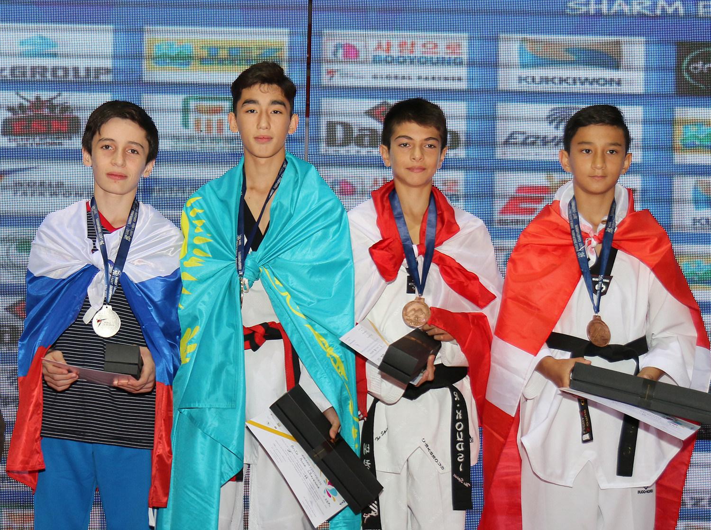 Award ceremony for M-41kg
