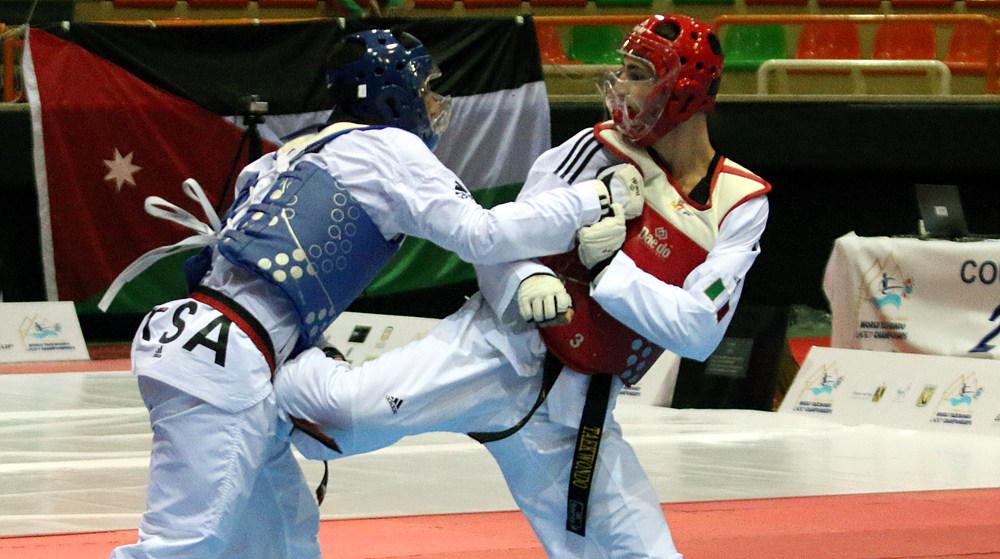 Mohammed Alsowaiq vs. Andrea Riondino in M-65kg