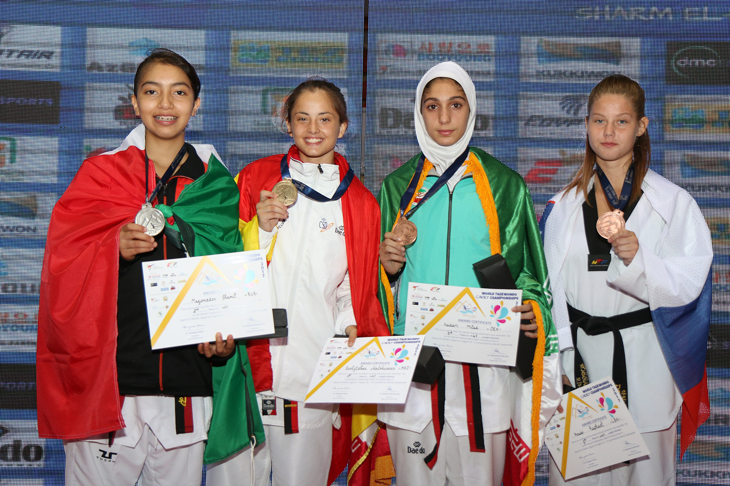 award ceremony for F-55kg