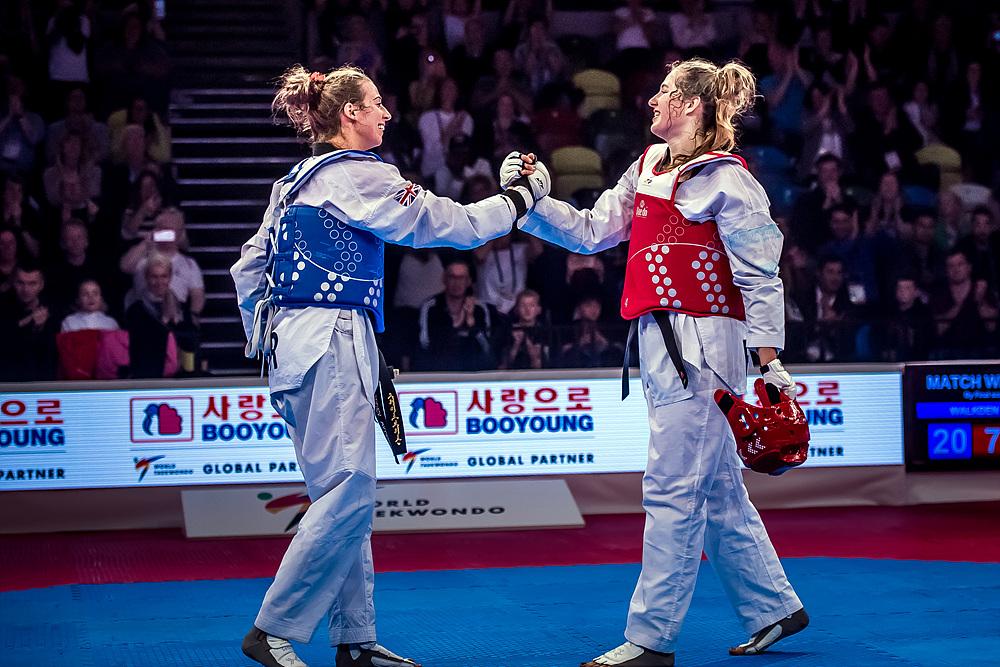 Bianca Walkden (GBR) vs. Aleksandra Kowalczuk (POL) in the final match of F+67kg (1)