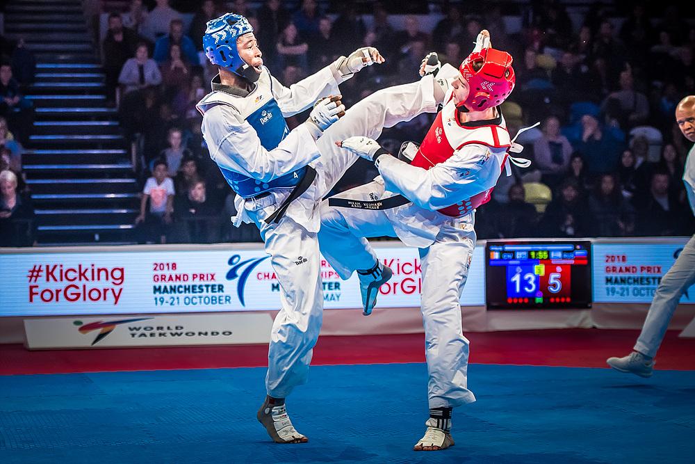 Cheick Sallah Cisse (CIV) vs. Maksim Khramtcov (RUS) in the final match of M-80kg (1)