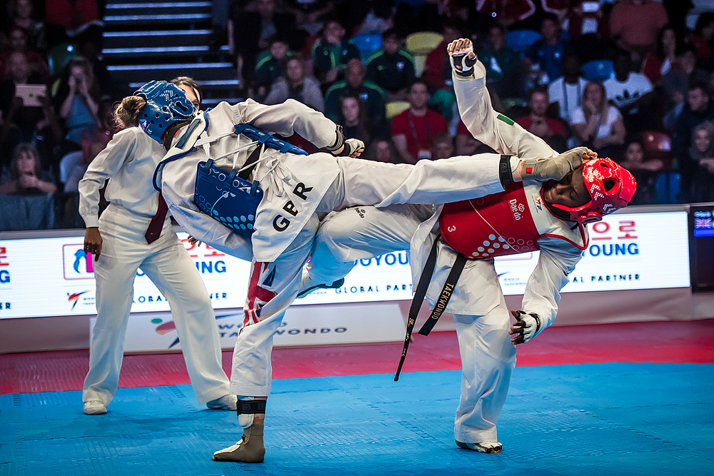 Lauren Williams (GBR) vs. Ruth Gbagbi (CIV) in the final of F-67kg (2)