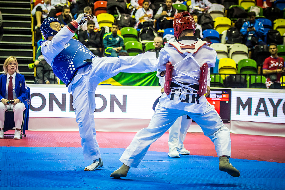Nyshan Omirali (KAZ) vs. Yasar Sami GOKBABA (TUR) in the final match of K42 M+75kg (3)