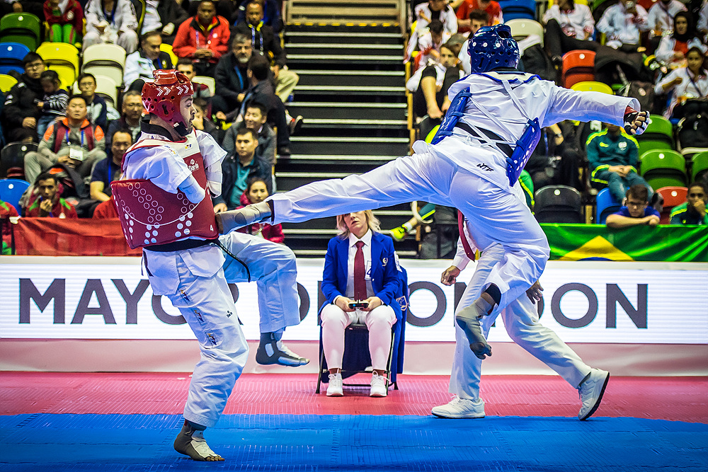 Nyshan Omirali (KAZ) vs. Yasar Sami GOKBABA (TUR) in the final match of K42 M+75kg (4)