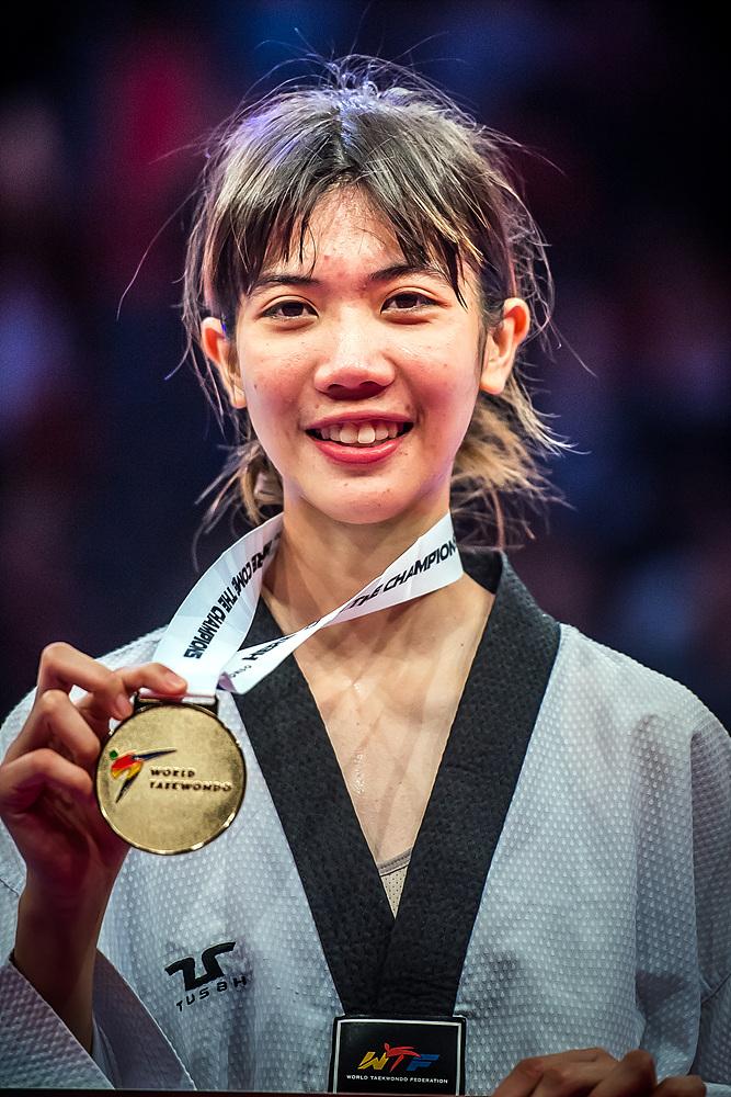 Panipak Wongpattanakit (THA) - the gold medalist of F-49kg