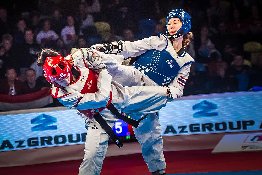 Panipak Wongpattanakit (THA) vs. Tijana Bogdanovic (SRB) in the final match of F-49kg (1)