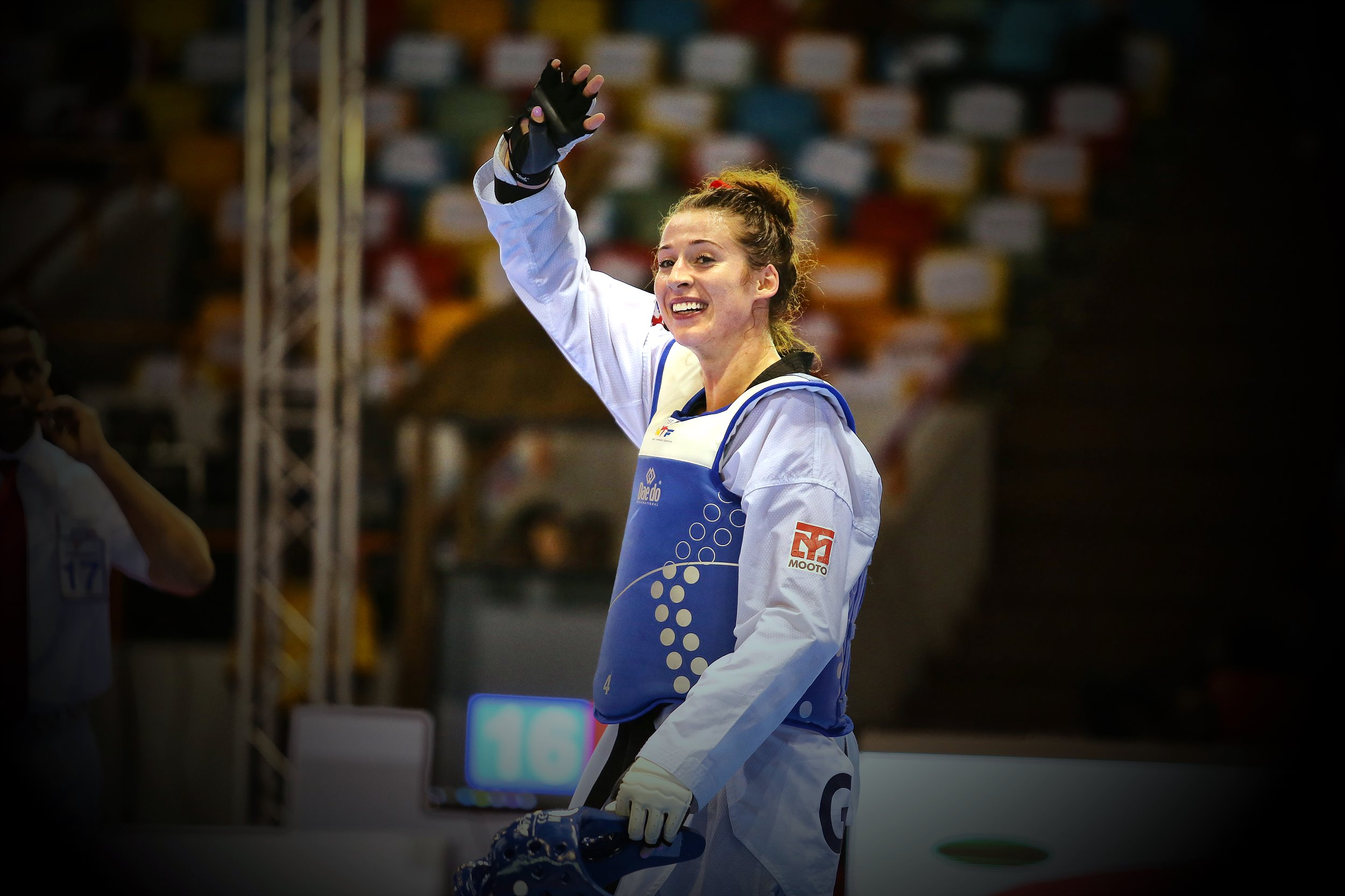 Bianca Walkden after winning the Abidjan 2017 World Taekwondo Grand Prix Final (4)