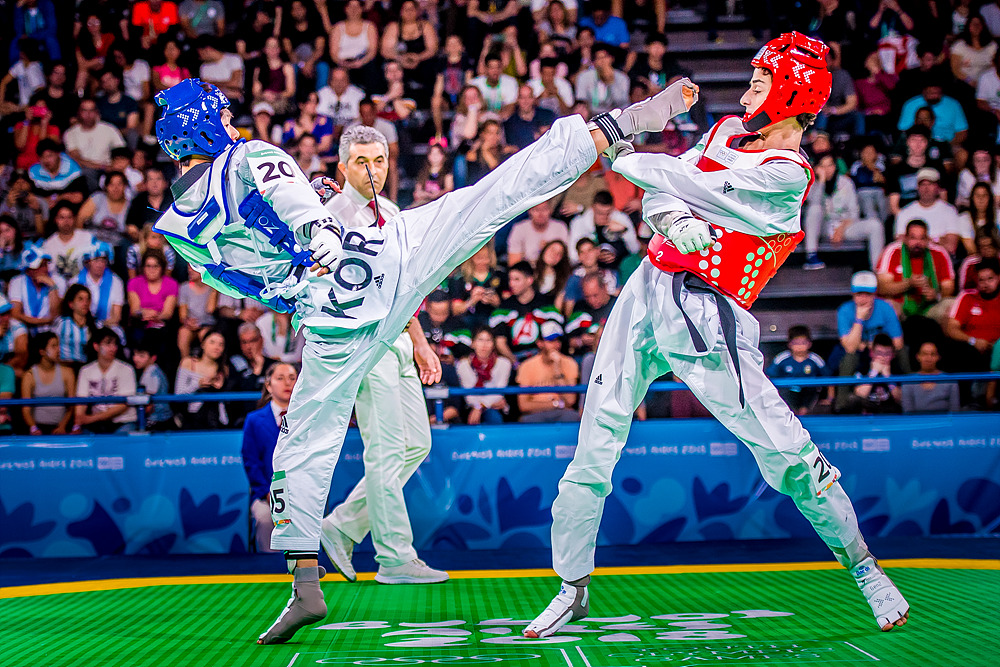 YOG (07.10.2018) AfterNoon-31_105_M-48kg_Quarterfinals_KORvsGEO
