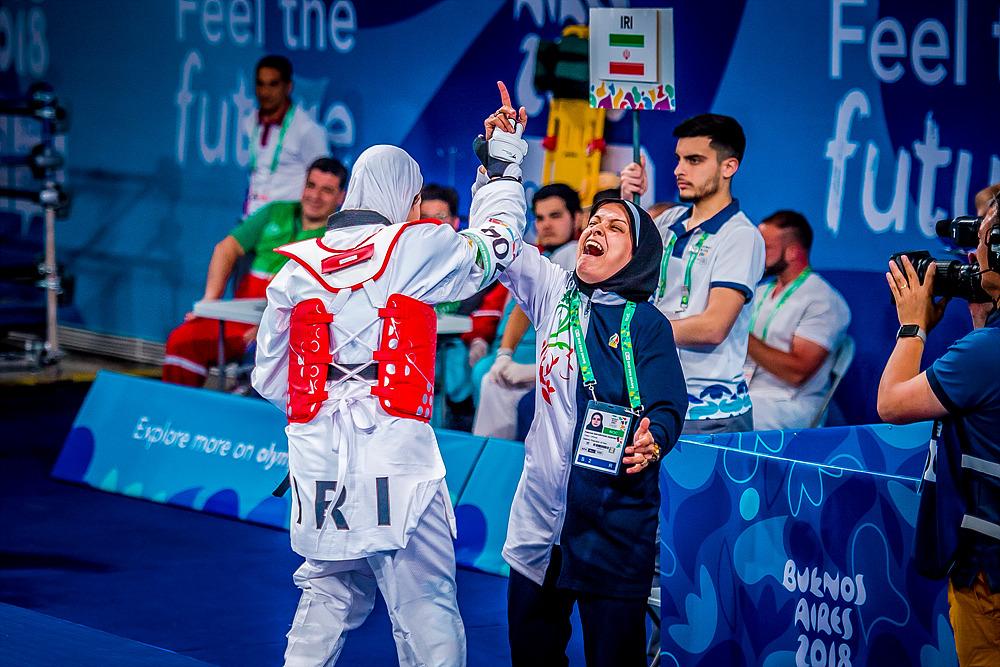 YOG (10.10.2018) Evening-16_19.00 114 Women -63kg Semifinals_MEXvsIRI