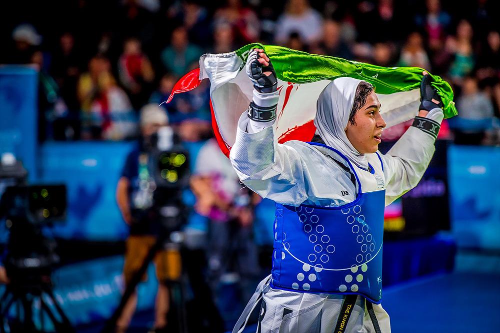 YOG (10.10.2018) Evening-43_20.00 118 Women -63kg Gold Medal Contest_IRIvsSRB