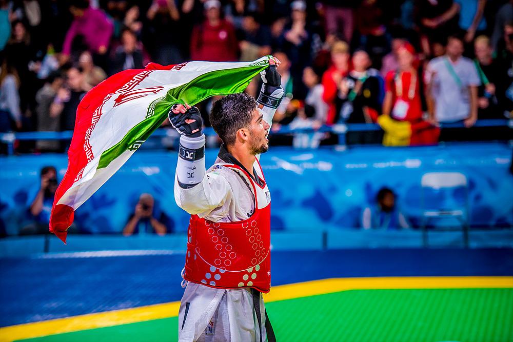 YOG (10.10.2018) Evening-53_20.15 119 Men -73kg Gold Medal Contest_BELvsIRI