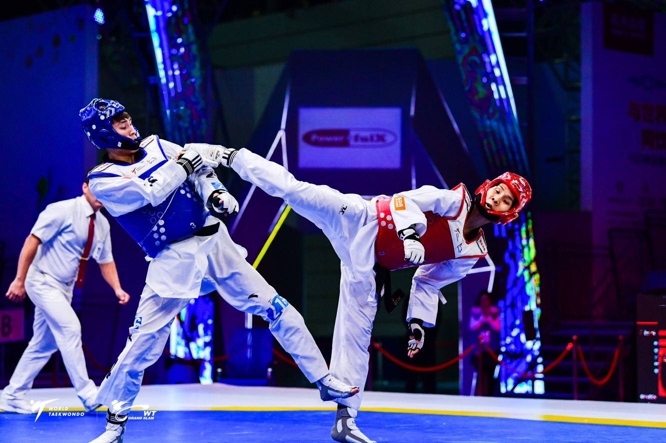 Day 2 competition picture of Wuxi 2018 WT Grand Slam Champions Series (3)