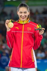 2016 Rio Olympic W+67kg Gold Medalist Shuyin ZHENG (China)