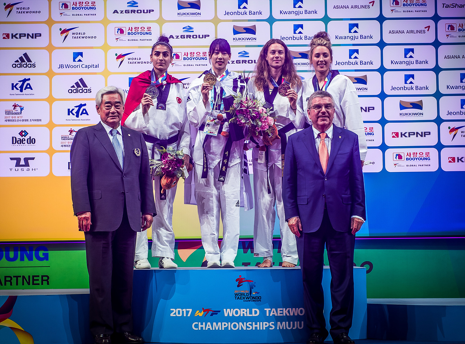 Awarding Ceremony of Muju 2017 WT Championships_F-57kg