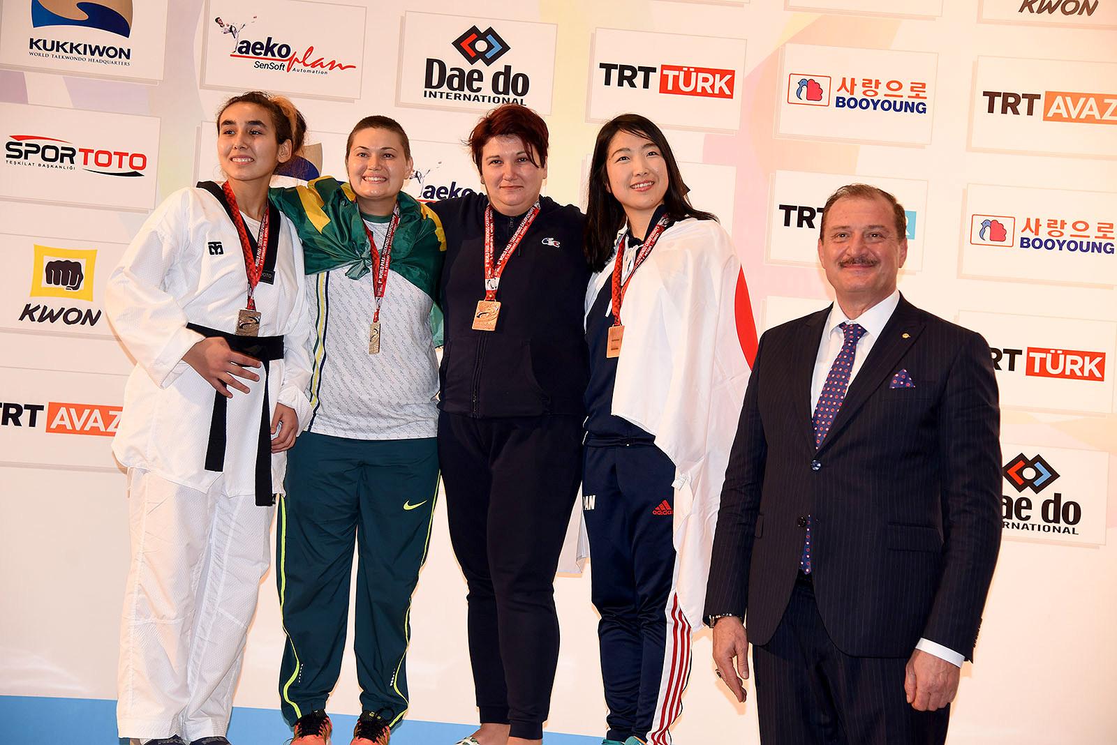DAY 2 – Antalya 2019 World Para Taekwondo Championships.