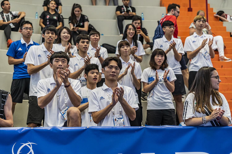 12 luglio 2019 - Fotografi Universiade - Taekwondo Foto Antonello Naddeo 09