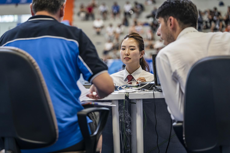 12 luglio 2019 - Fotografi Universiade - Taekwondo Foto Antonello Naddeo 15