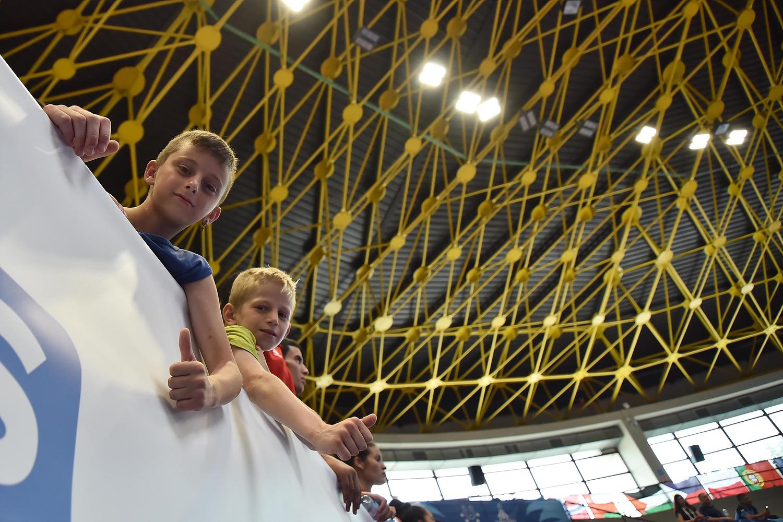 NAPOLI - 12 July 2019 Taekwondo - Men's Quarter during the NAPOLI2019, at the PalaCasoria (NA) PHOTO POOL FOTOGRAFI UNIVERSIADE 2019