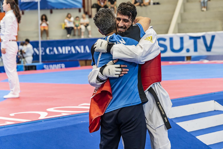 Ahmadi Soroush 12 luglio 2019 - Fotografi Universiade - Taekwondo Foto Antonello Naddeo 2