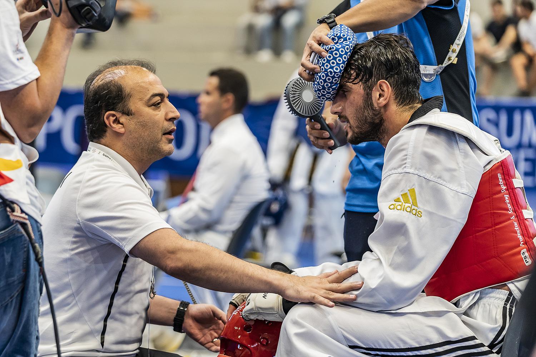 Ahmadi Soroush 12 luglio 2019 - Fotografi Universiade - Taekwondo Foto Antonello Naddeo 4
