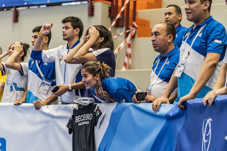 Ahmadi Soroush 12 luglio 2019 - Fotografi Universiade - Taekwondo Foto Antonello Naddeo 5