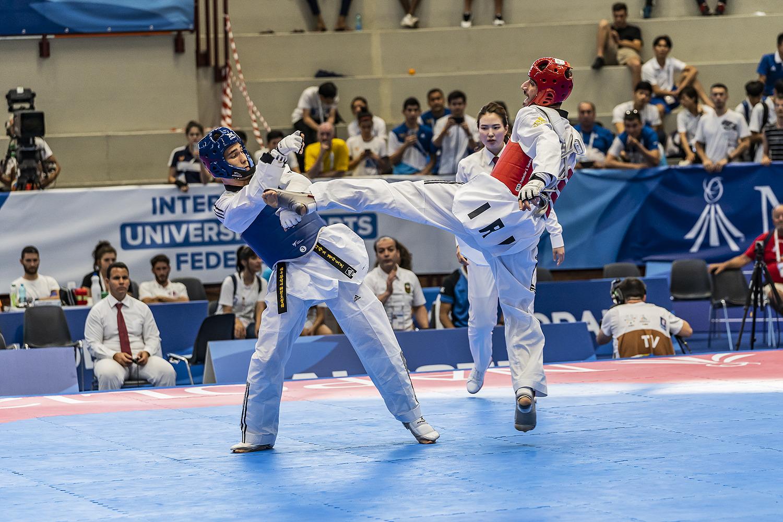 Ahmadi Soroush 12 luglio 2019 - Fotografi Universiade - Taekwondo Foto Antonello Naddeo 9