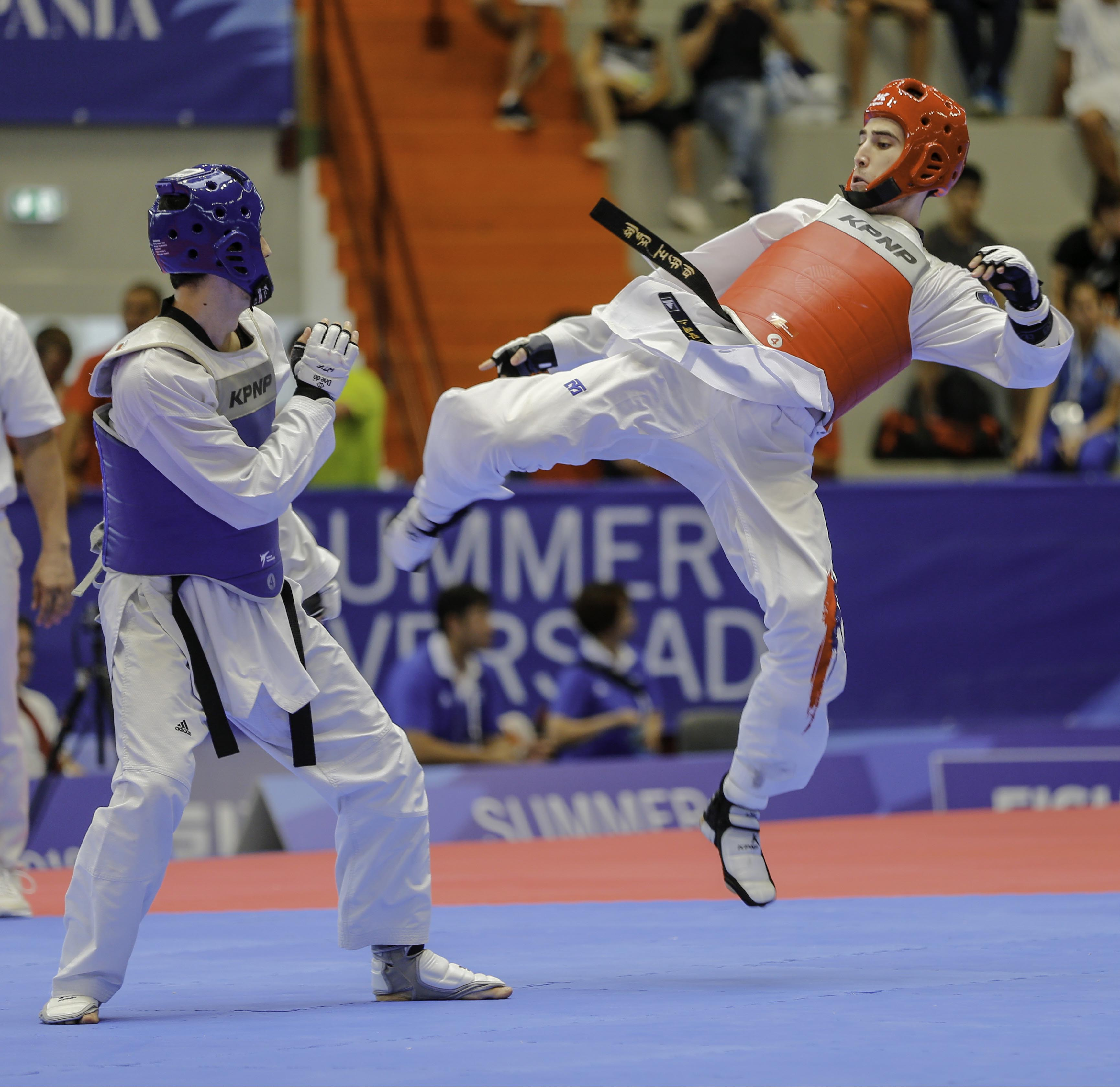 TAEKWONDO 09/07/19 - PHOTO POOL FOTOGRAFI UNIVERSIADE 2019