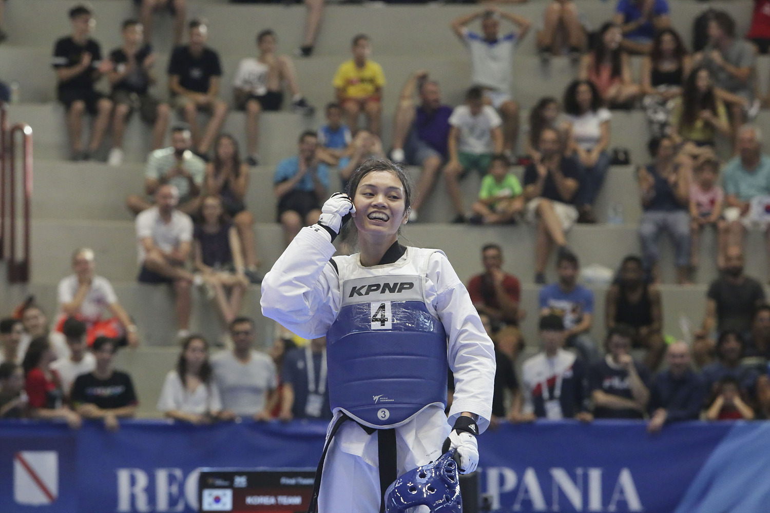 TAEKWONDO 13-07-2019 - FINALI - PHOTO POOL FOTOGRAFI UNIVERSIADE 2019