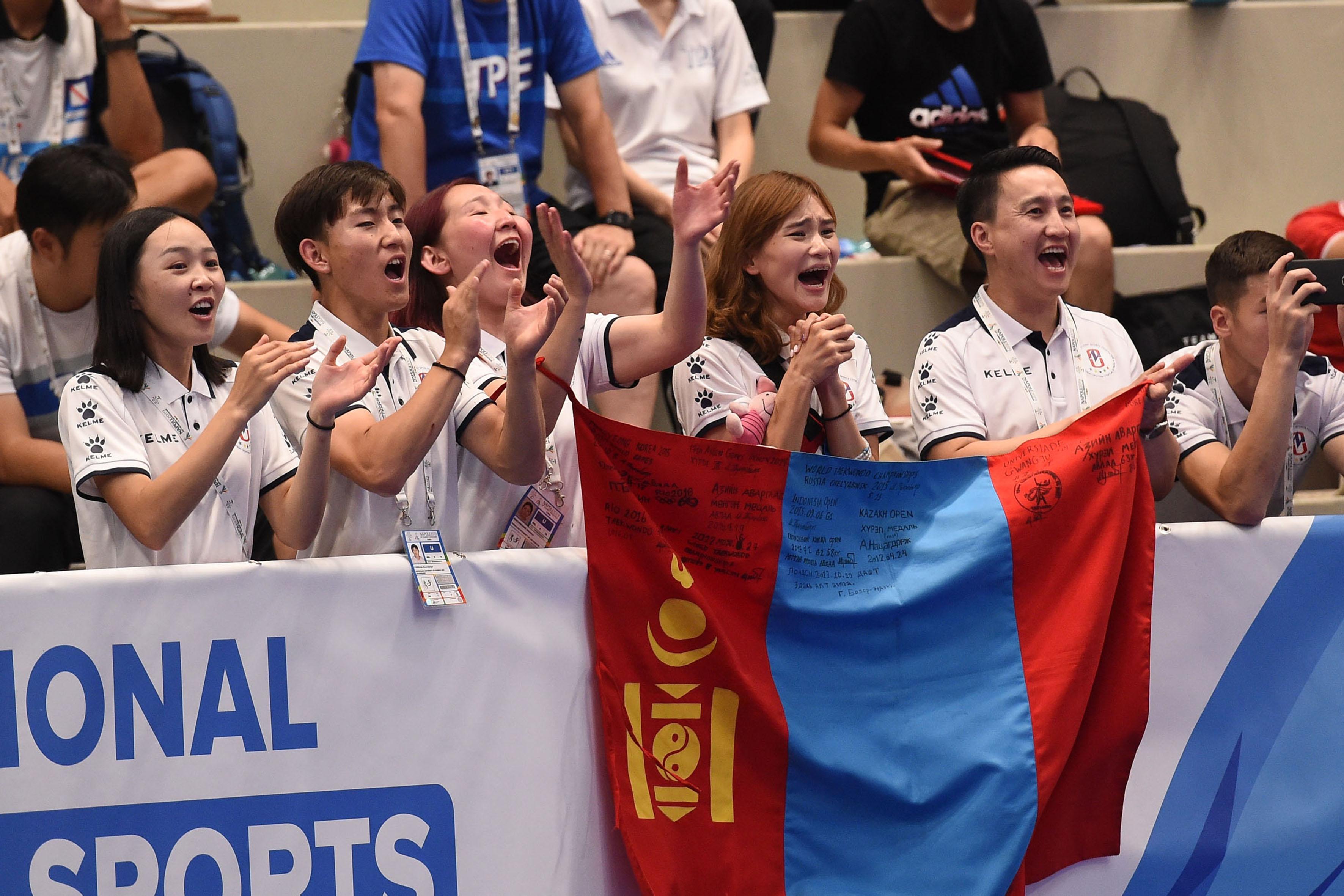 Taekwondo - 10-07-2019 - Finali PHOTO POOL FOTOGRAFI UNIVERSIADE NAPOLI 2019