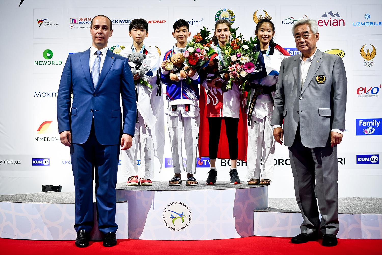 Awarding Ceremony for W-29kg