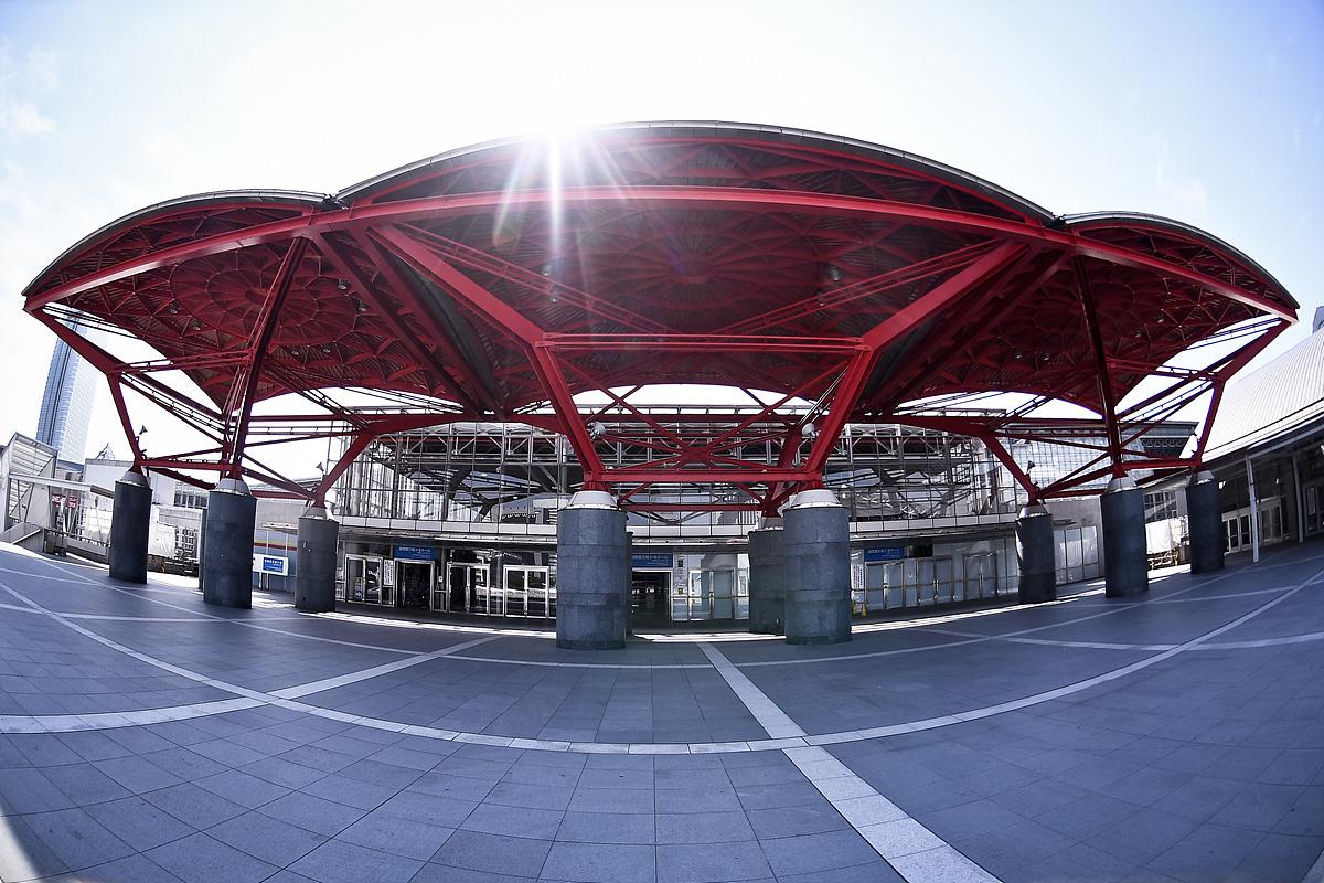 내년 도쿄2020 태권도가 열리는 마쿠하리메세 경기장 외부사진