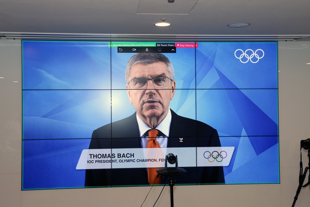 IOC President Thomas Bach's video message to WT Councils